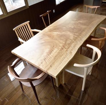 「一枚板との出会いがつくった『家具からはじまる空間づくり』」